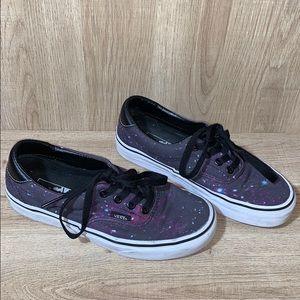 Vans Galaxy Low Top Canvas Sneakers